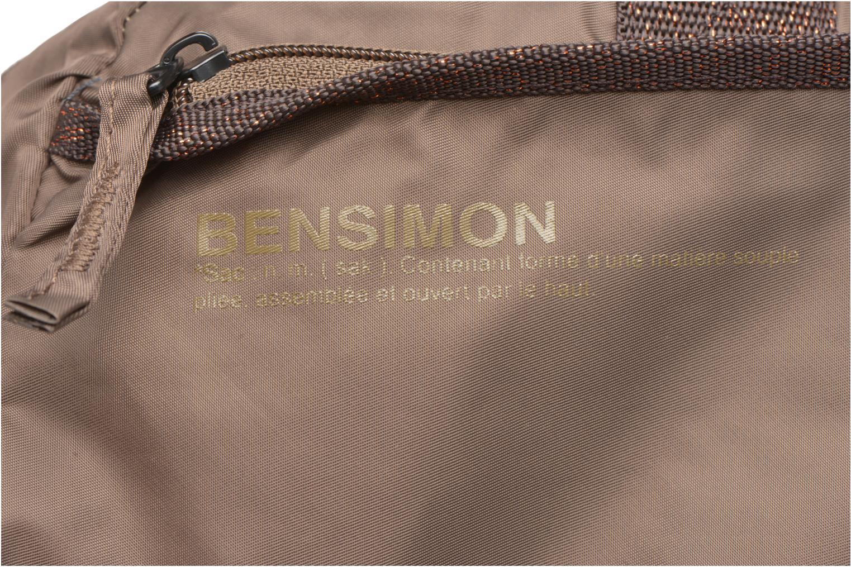 Sporttaschen Bensimon Sport Bag braun ansicht von links