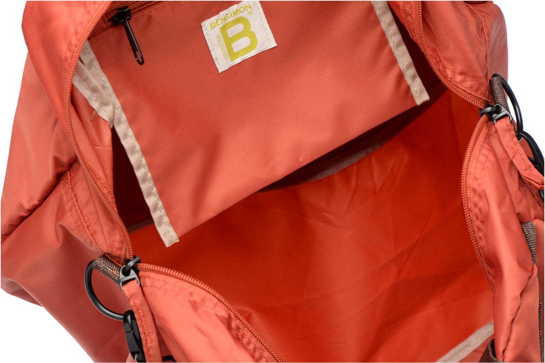 Sporttassen Bensimon Sport Bag Oranje achterkant