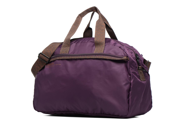 Sacs de sport Bensimon Sport Bag Violet vue portées chaussures