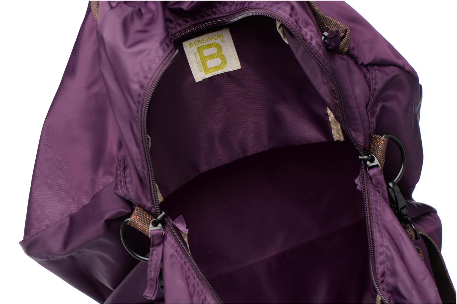Sports bags Bensimon Sport Bag Purple back view
