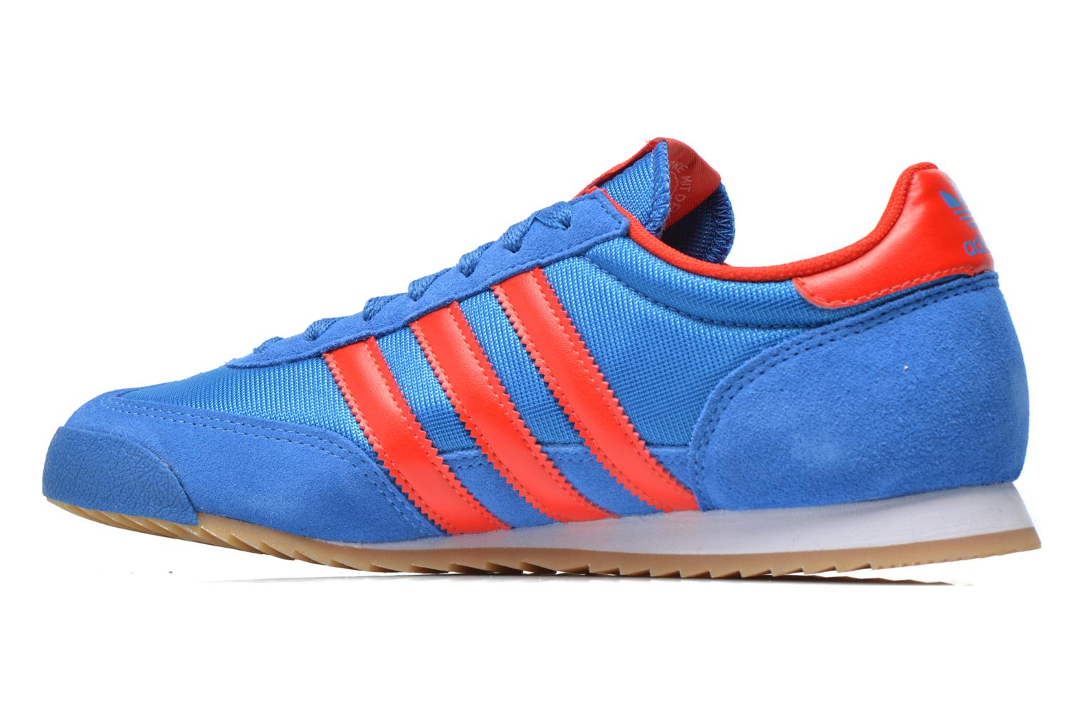 Baskets Adidas Originals Dragon Bleu vue face