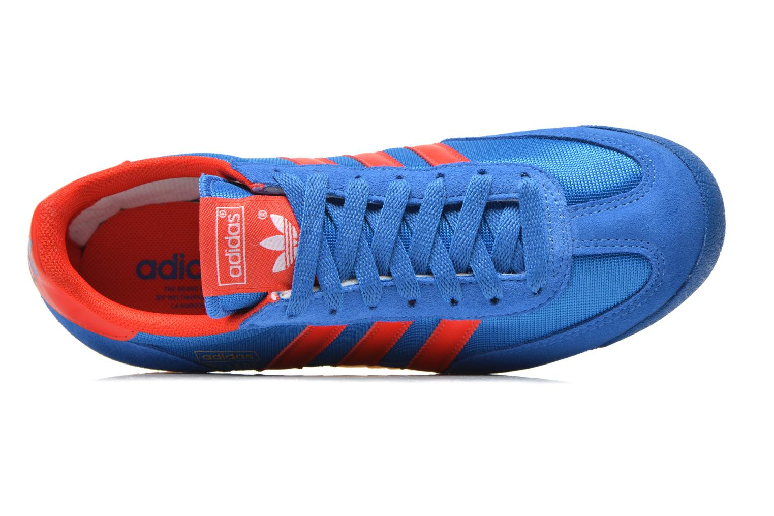 Baskets Adidas Originals Dragon Bleu vue gauche