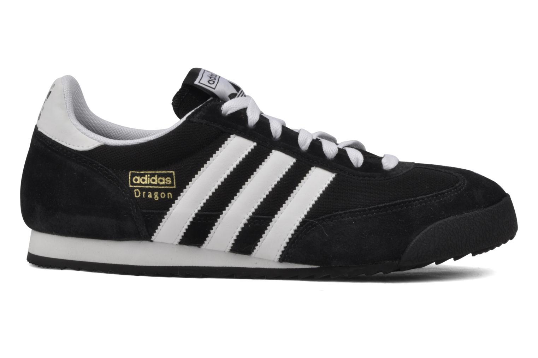 Baskets Adidas Originals Dragon Noir vue derrière