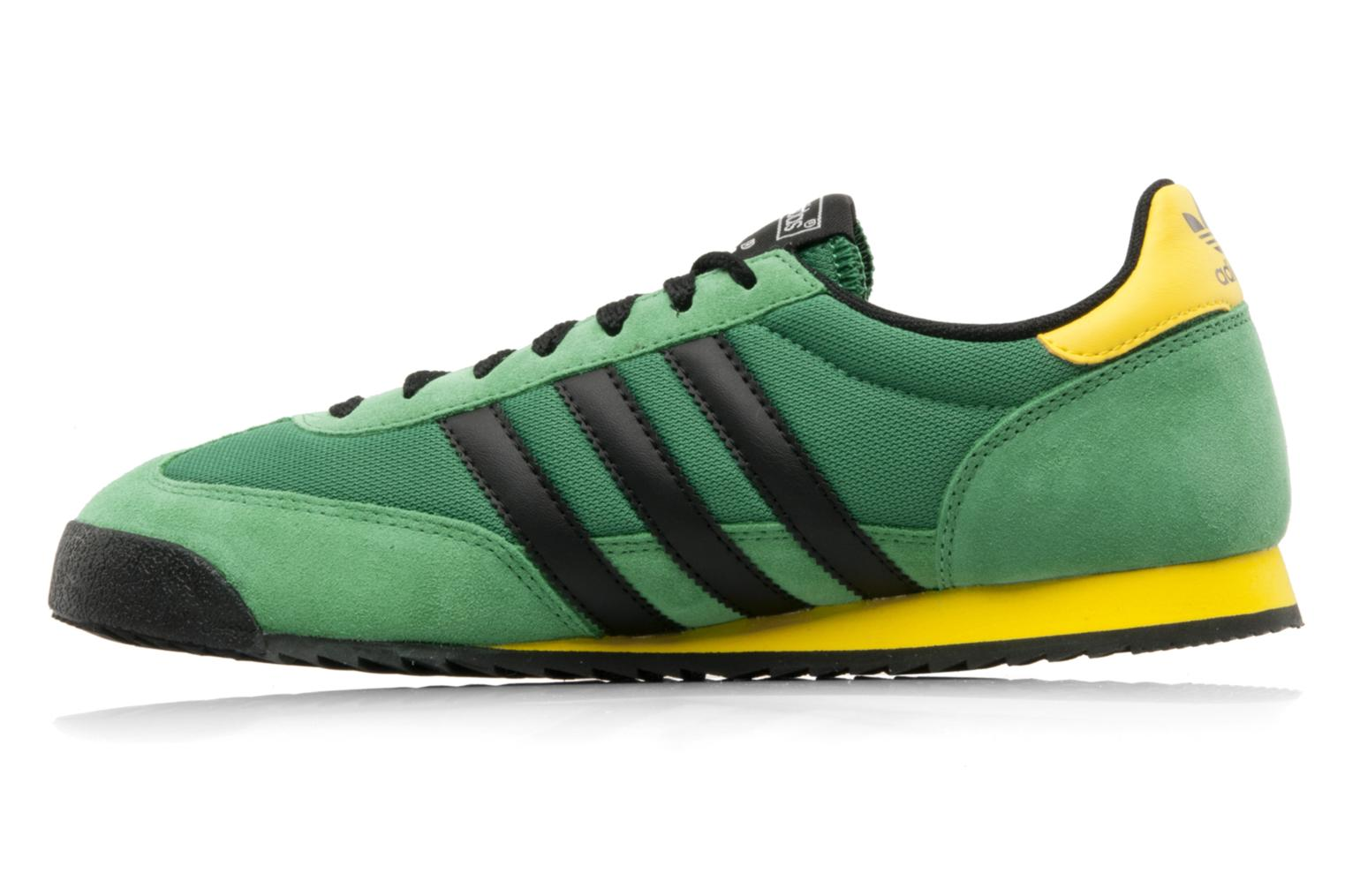 Baskets Adidas Originals Dragon Vert vue face