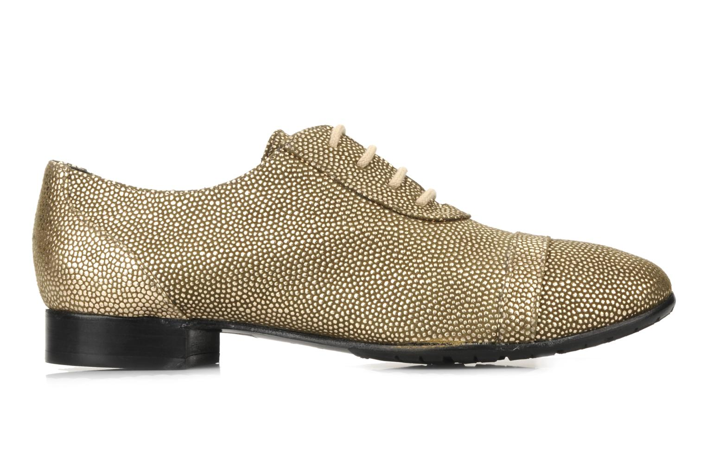 Chaussures à lacets Maloles Dorothy Or et bronze vue derrière