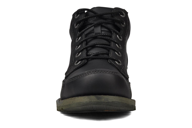 Chaussures à lacets Skechers Shockwaves Regions 61737 Noir vue portées chaussures