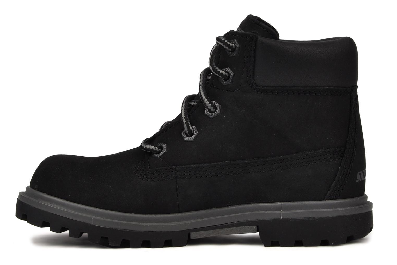 Stiefeletten & Boots Skechers Lumberjack schwarz ansicht von vorne