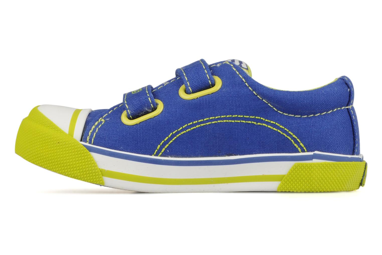 Trainers Skechers Papoose Blue front view