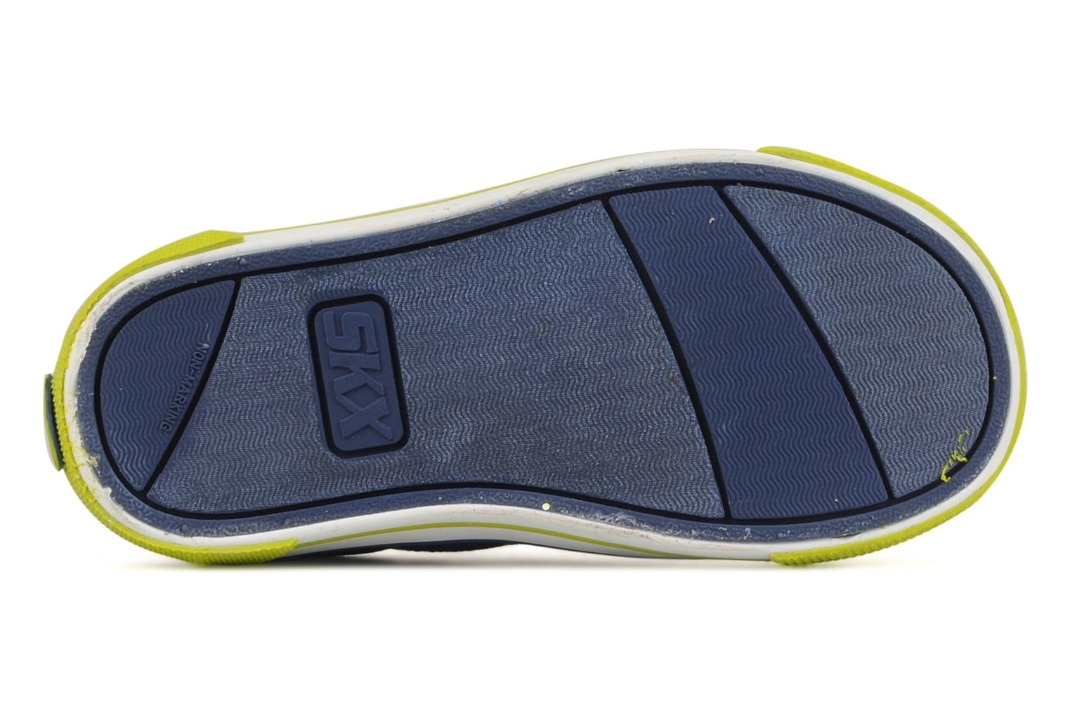 Trainers Skechers Papoose Blue view from above