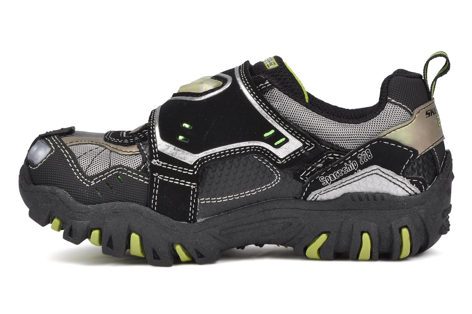 Baskets Skechers Spaceship Noir vue face
