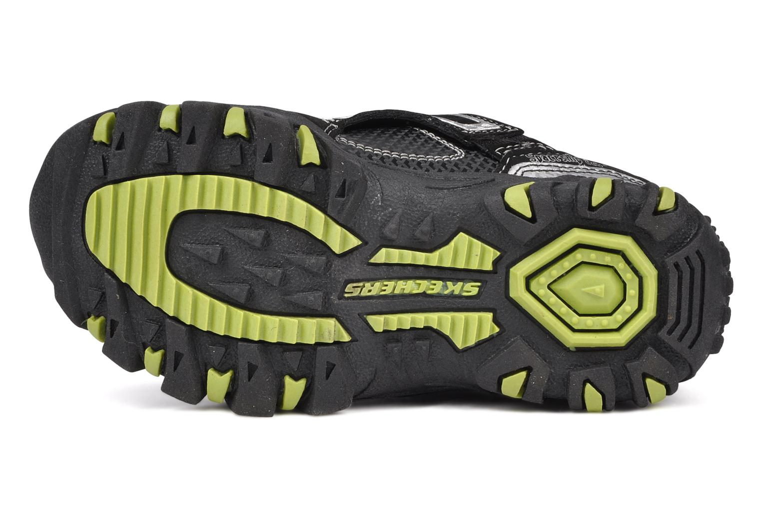 Trainers Skechers Spaceship Black view from above