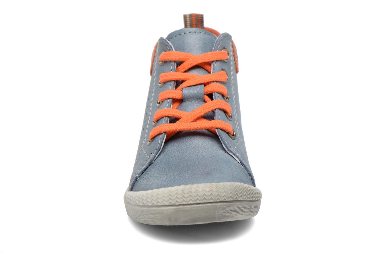 Bottines et boots Babybotte Feria Bleu vue portées chaussures