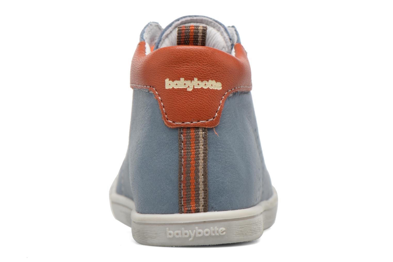 Bottines et boots Babybotte Feria Bleu vue droite