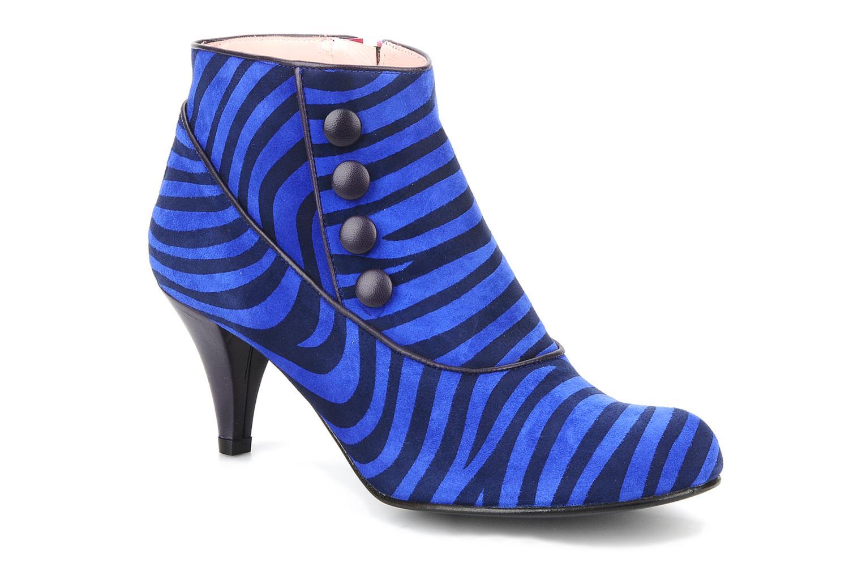Bottines et boots Annabel Winship Famous Bleu vue détail/paire