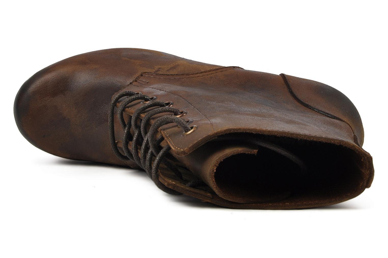Bottines et boots Jeffrey Campbell Erikson Marron vue gauche
