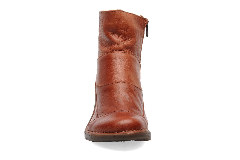 Ankle boots Art Oteiza 621 Orange model view