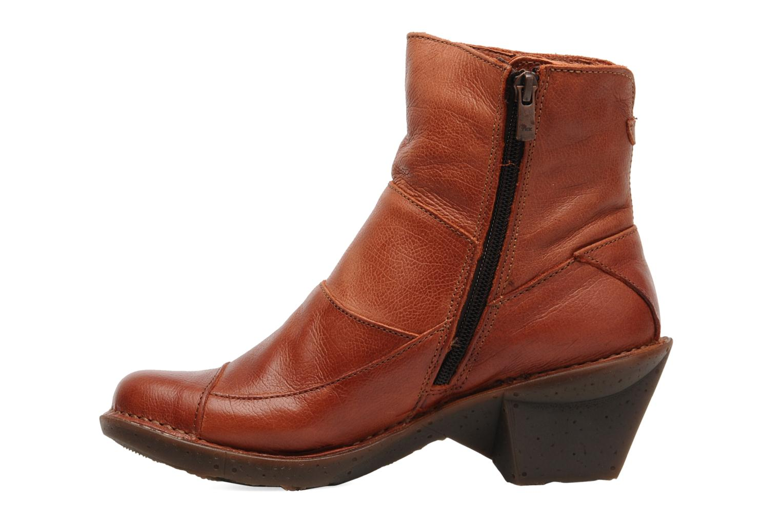 Ankle boots Art Oteiza 621 Orange front view
