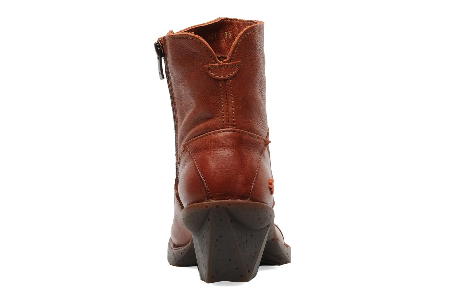Ankle boots Art Oteiza 621 Orange view from the right