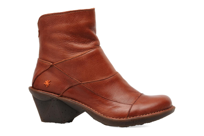 Ankle boots Art Oteiza 621 Orange back view
