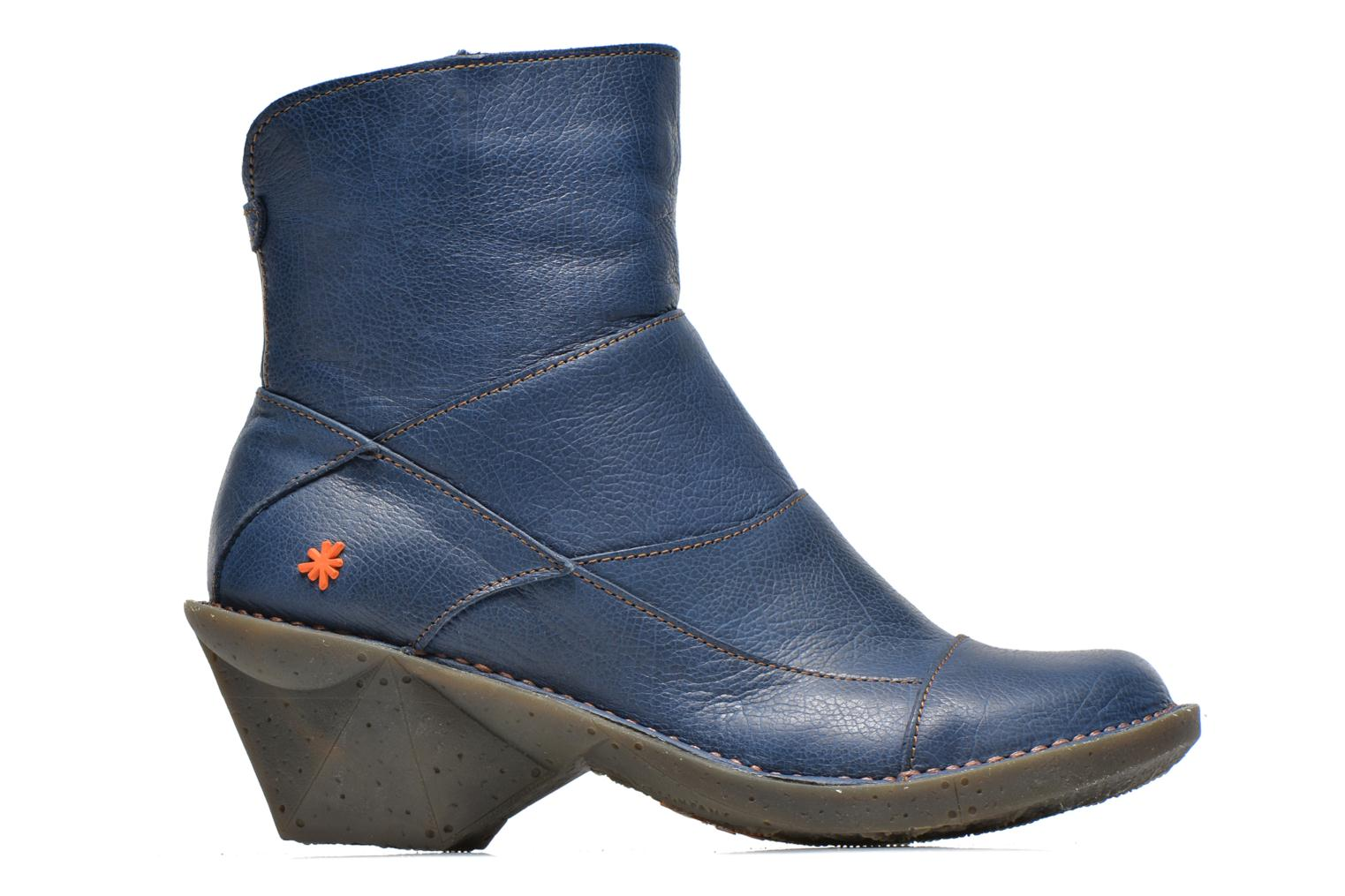 Ankle boots Art Oteiza 621 Blue back view