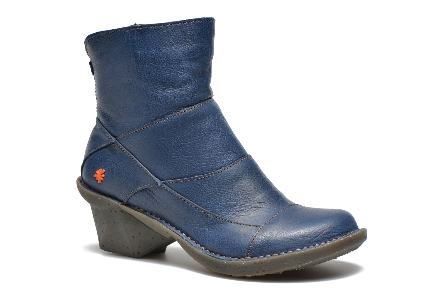 Ankle boots Art Oteiza 621 Blue detailed view/ Pair view