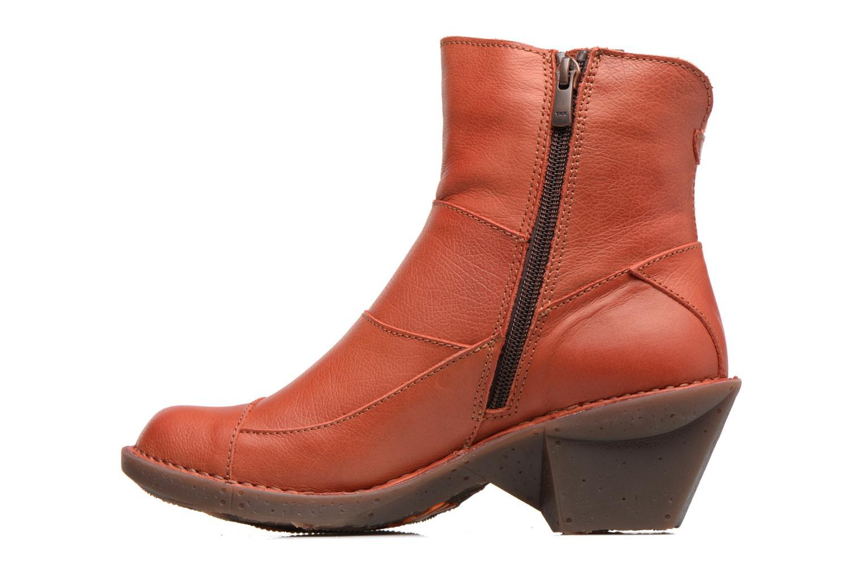 Bottines et boots Art Oteiza 621 Rouge vue face