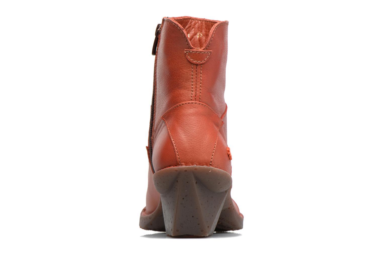 Bottines et boots Art Oteiza 621 Rouge vue droite