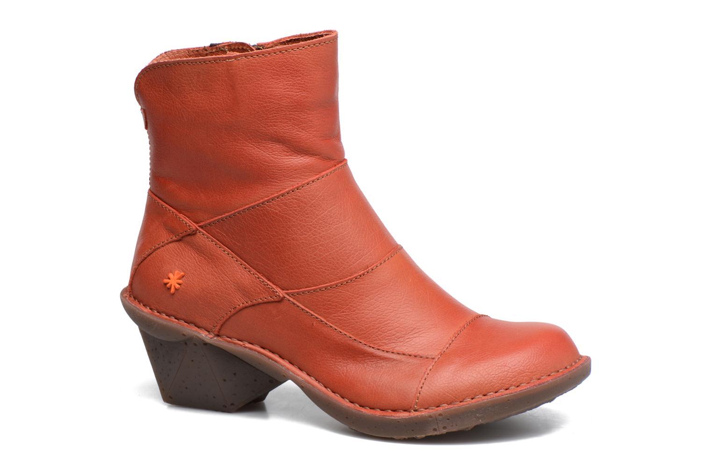 Bottines et boots Art Oteiza 621 Rouge vue détail/paire