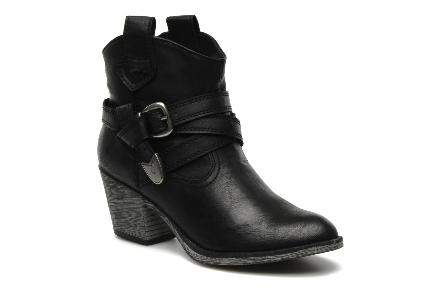 Ankle boots Rocket Dog Satire Black detailed view/ Pair view
