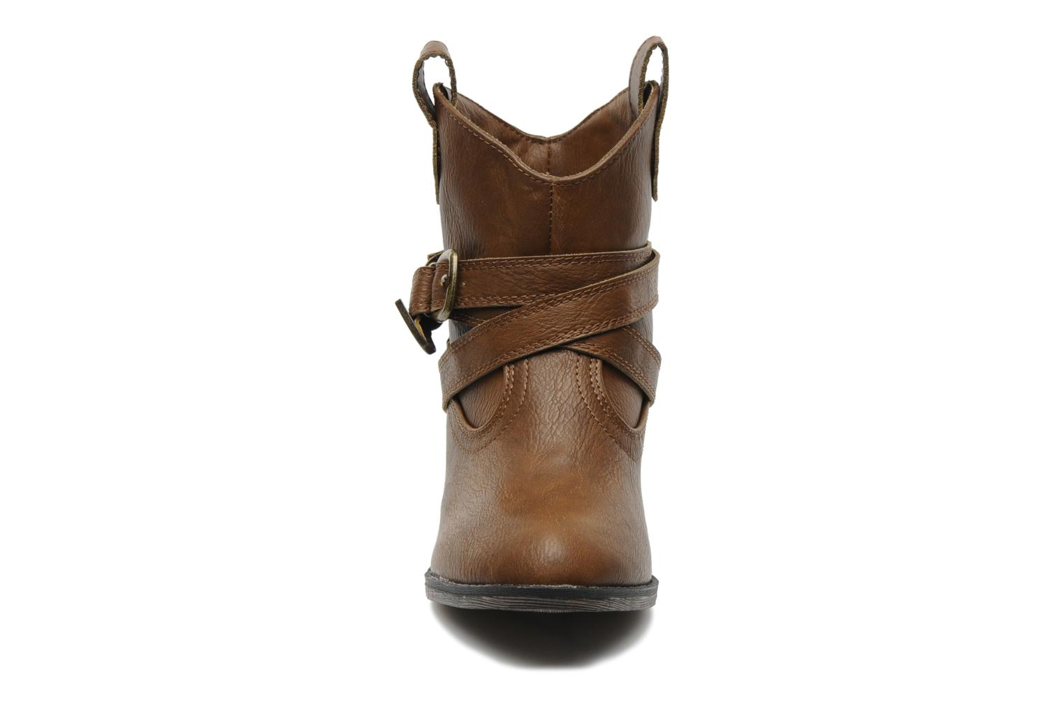 Ankle boots Rocket Dog Satire Brown model view