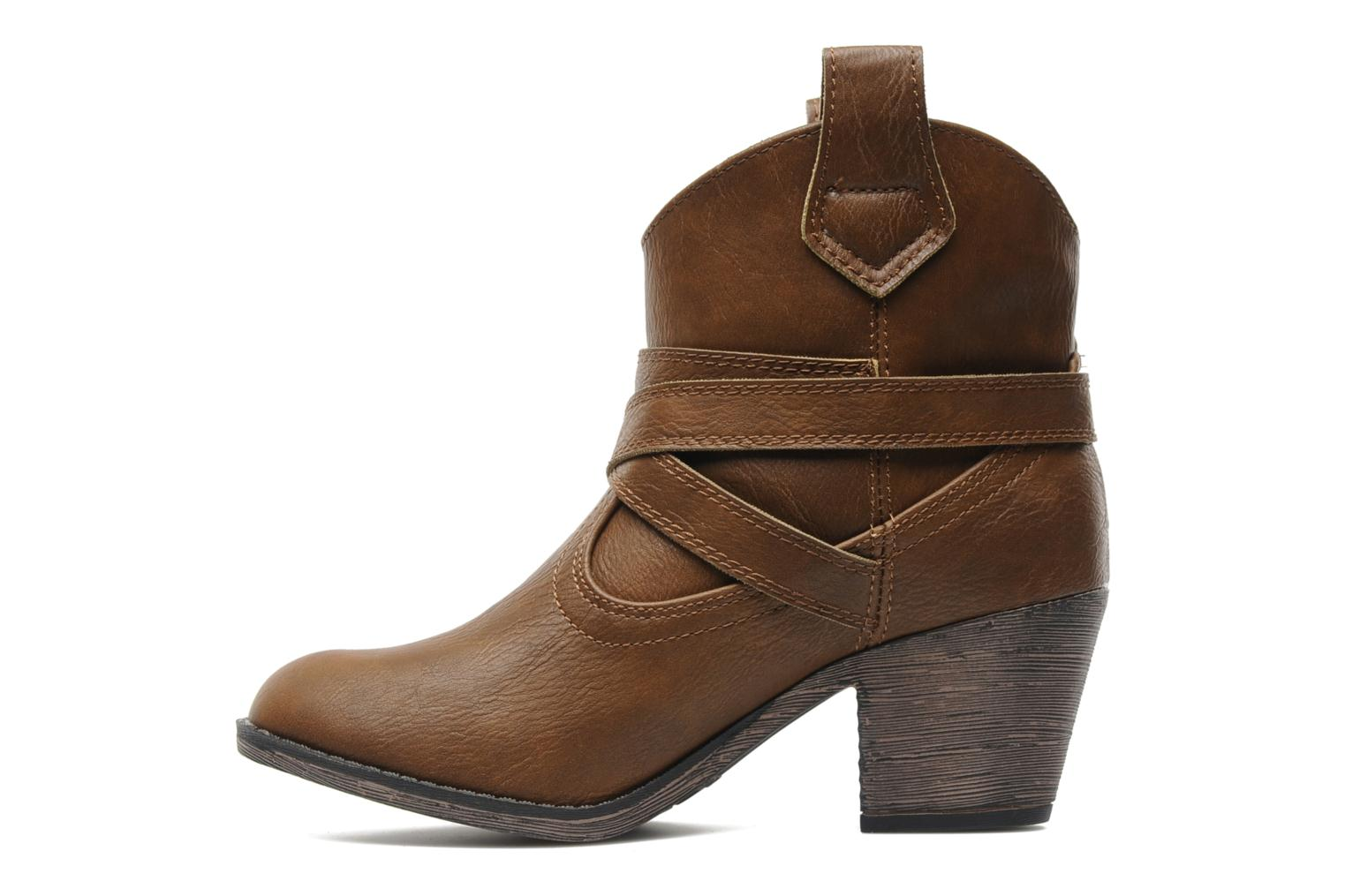 Ankle boots Rocket Dog Satire Brown front view