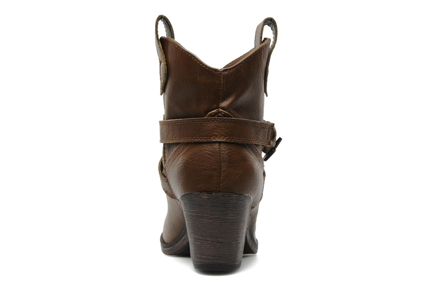 Bottines et boots Rocket Dog Satire Marron vue droite