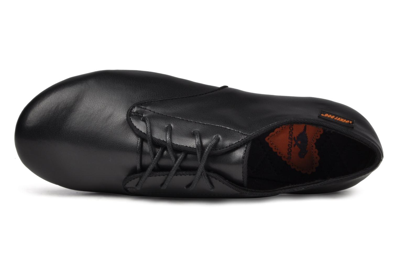 Chaussures à lacets Rocket Dog Boris Tspu Noir vue gauche