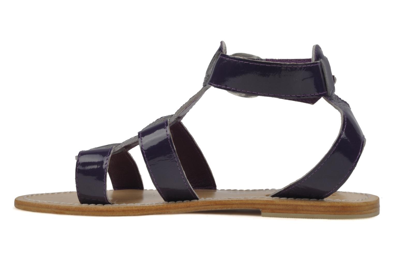 Sandales et nu-pieds Koah Ital Violet vue face