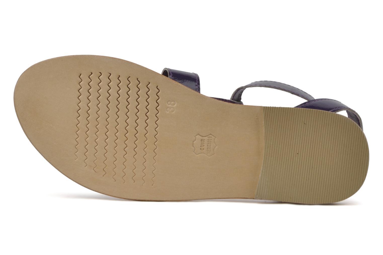 Sandales et nu-pieds Koah Ital Violet vue haut