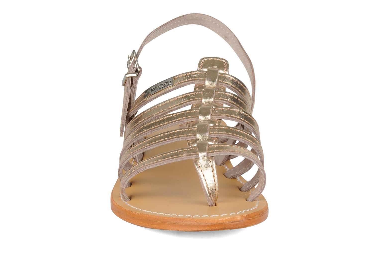 Sandali e scarpe aperte Les Tropéziennes par M Belarbi Herisson Oro e bronzo modello indossato
