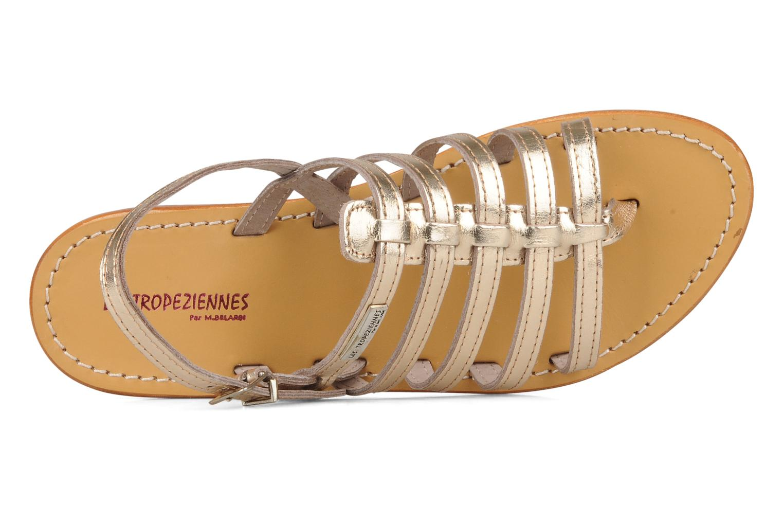 Sandali e scarpe aperte Les Tropéziennes par M Belarbi Herisson Oro e bronzo immagine sinistra