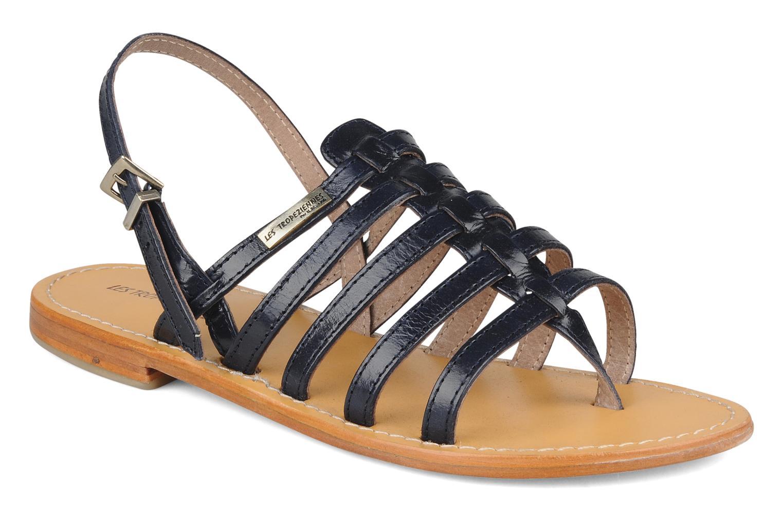 Sandales et nu-pieds Les Tropéziennes par M Belarbi Herisson Bleu vue détail/paire
