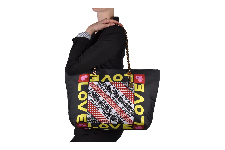 Handtaschen Love Moschino Charming bag shopper mehrfarbig ansicht von oben