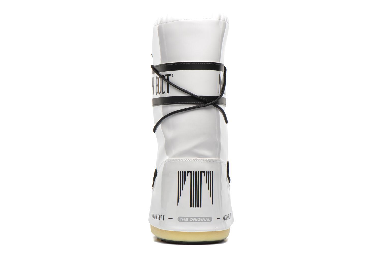 Chaussures de sport Moon Boot Vinil Blanc vue droite