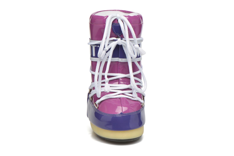 Chaussures de sport Moon Boot Vinil Violet vue portées chaussures