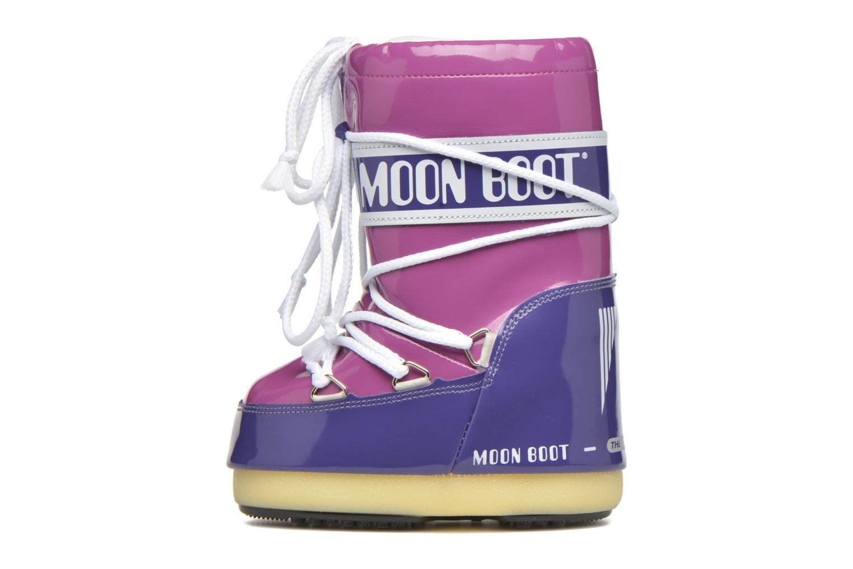 Chaussures de sport Moon Boot Vinil Violet vue face