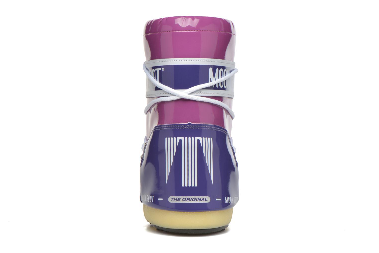 Chaussures de sport Moon Boot Vinil Violet vue droite
