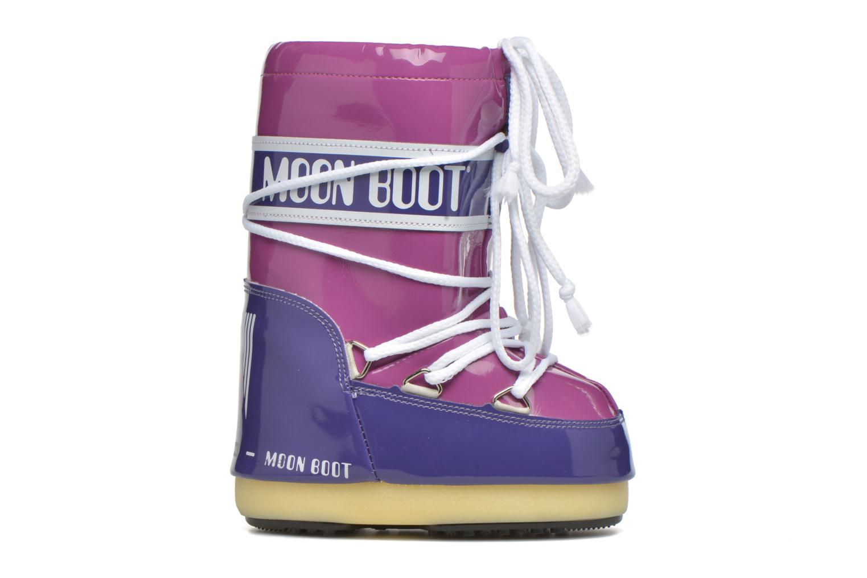 Chaussures de sport Moon Boot Vinil Violet vue derrière