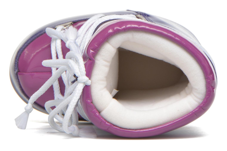 Chaussures de sport Moon Boot Vinil Violet vue gauche