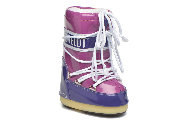 Chaussures de sport Moon Boot Vinil Violet vue détail/paire