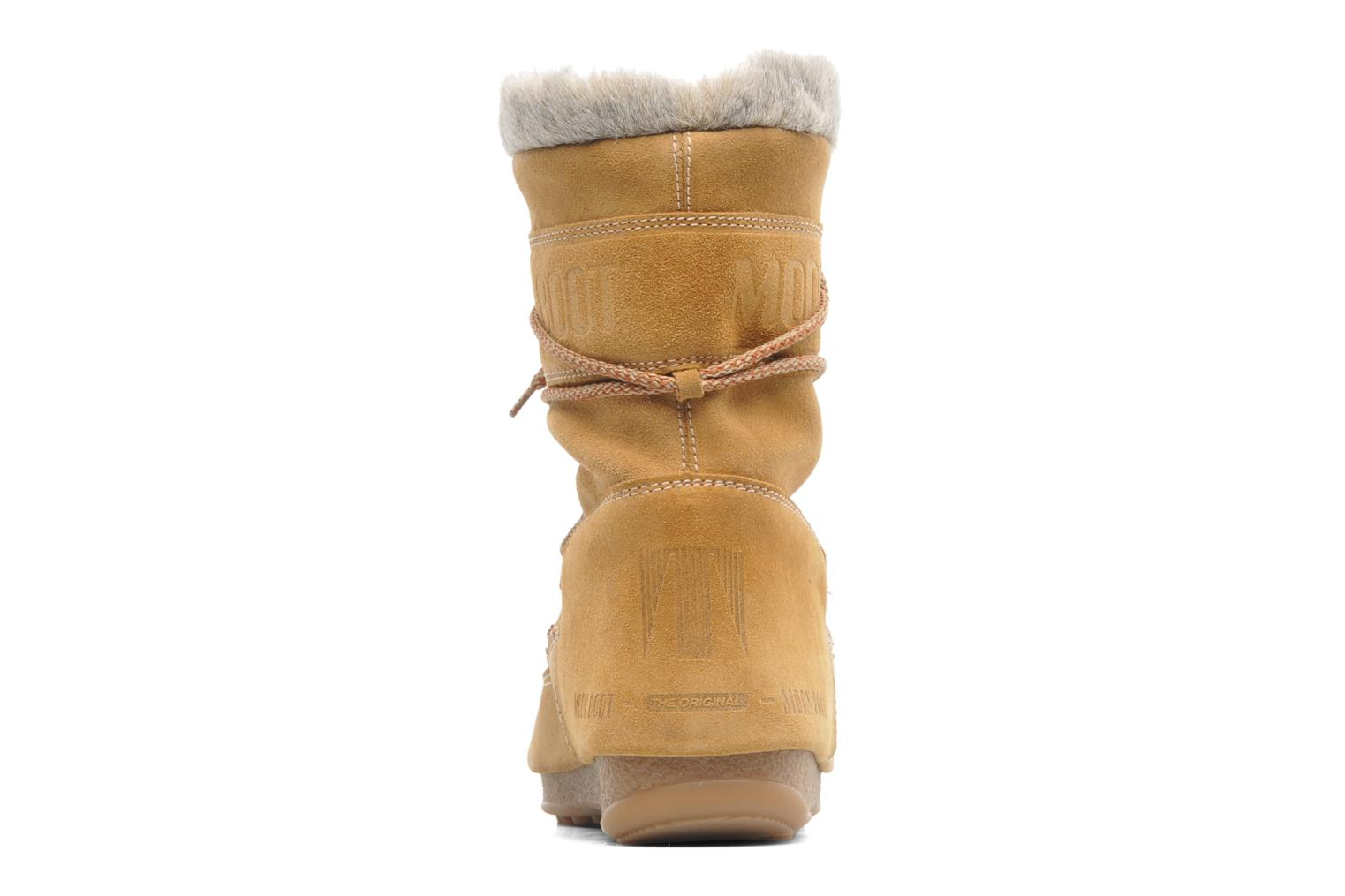 Ankle boots Moon Boot Butter mid Brown view from the right