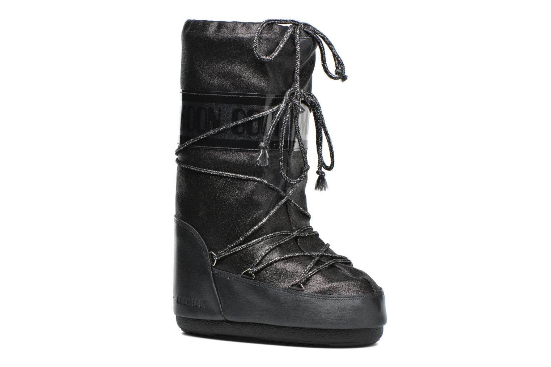 Bottes Moon Boot Delux Noir vue détail/paire