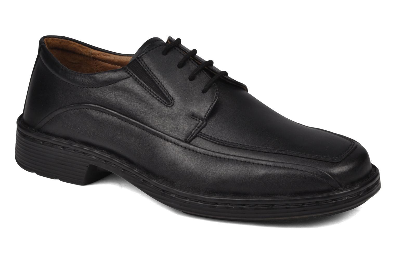 Zapatos con cordones Josef Seibel Brian Negro vista de detalle / par