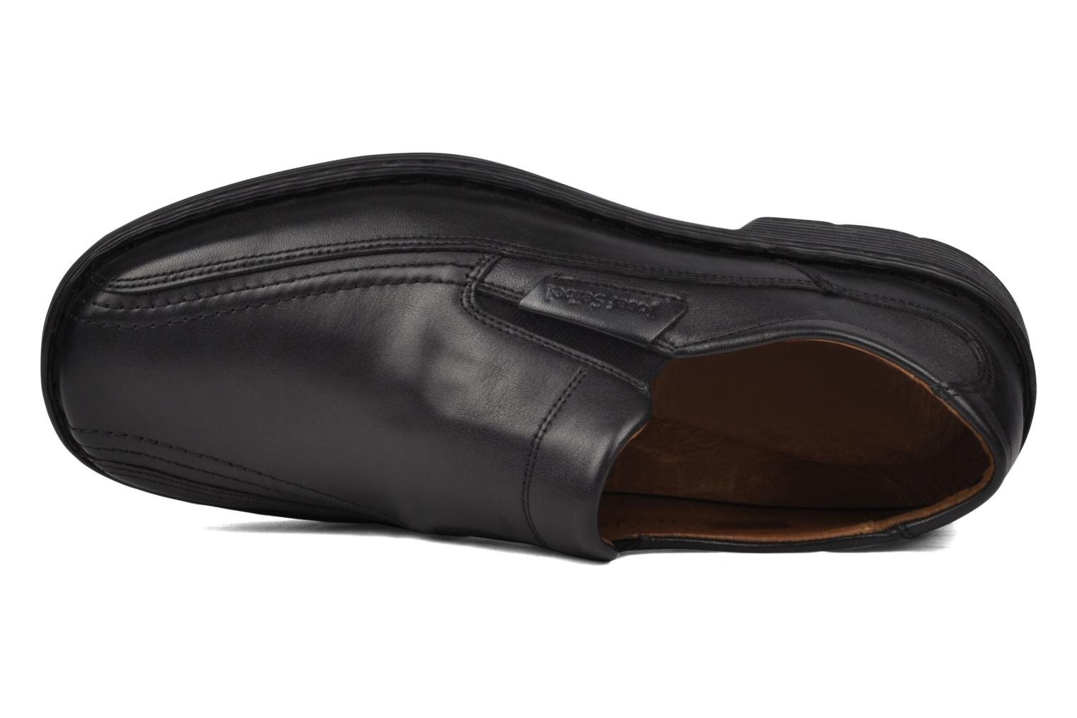 Loafers Josef Seibel Bradfjord 07 Black view from the left